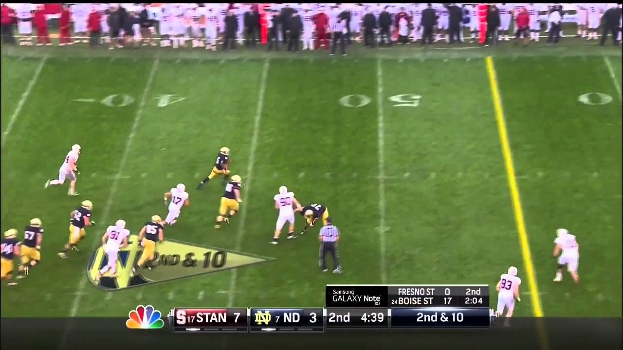 Tyler Eifert vs Stanford (2012)