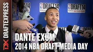 Dante Exum - 2014 NBA Draft Media Day
