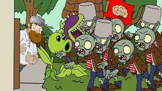 Plants vs zombies 2 ANIMATION Zombie Invasion (Cartoon)/Invasion zombi