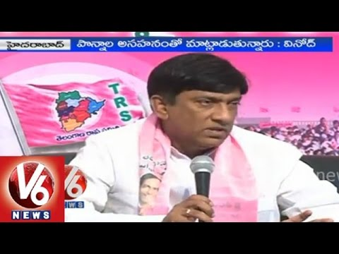 TRS MPs fires on PCC Chief over criticizing CM KCR