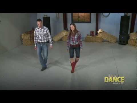 How to Line Dance – Slappin' Leather Line Dance video