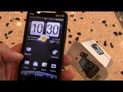 HTC Evo 4G Unboxing