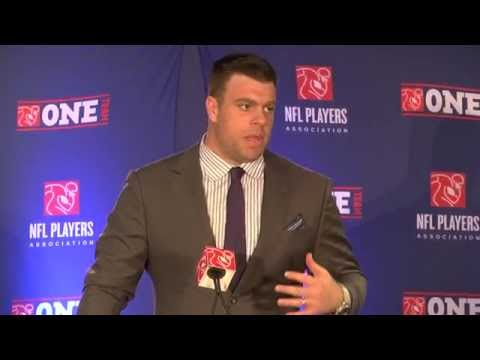 2015 NFLPA Super Bowl Press Conference