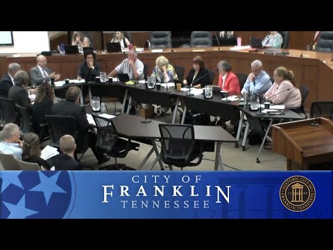 City of Franklin BOMA Work Session May 22, 2018