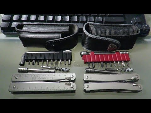 Victorinox SWISSTOOL : PLUS vs SPIRIT XC PLUS RATCHET