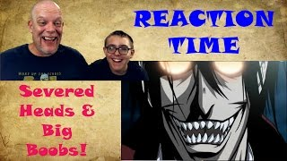 "Video REACTION TIME | ""Hellsing Ultimate Abridged"" - Severed Heads and Nice Boobs FTW MP3, 3GP, MP4, WEBM, AVI, FLV Juli 2018"