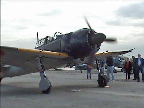 Flight Demo of Genuine Japanese Zero with ORIGINAL WWII Sakae 31 Engine !