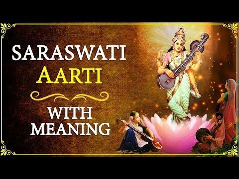 "Video ""Om Jai Saraswati Mata"" - Saraswati Aarti with Lyrics & Meaning in English download in MP3, 3GP, MP4, WEBM, AVI, FLV January 2017"