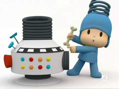 Pocoyo   La Mezcladora (spanish version) [Discovery Kids].wmv (видео)