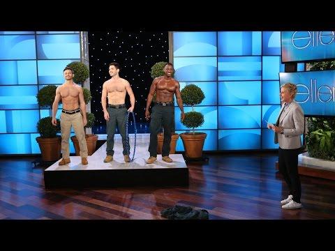 gardener - The finalists were here to crown the winner of Ellen's gardener contest!