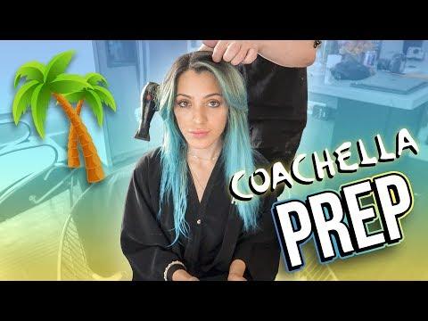 COACHELLA PREP!☀️New hair, nails, outfits & MORE