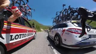Bagneres-de-Luchon France  City new picture : Caméra embarquée - Étape 8 (Pau / Bagnères-de-Luchon) - Tour de France 2016