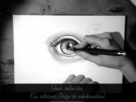 Auge zeichnen – Zeichen-Tutorial (für Anfänger)