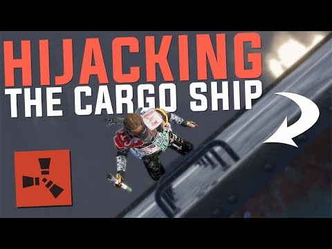 Rust - HIJACKING The CARGO SHIP (Rust PvP Highlights & More)