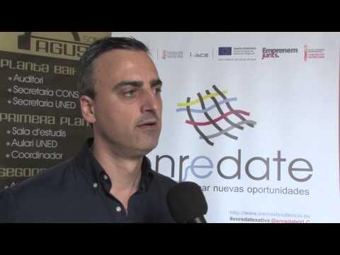 Andrés Conejero  Profesor de la UPV Enrédate Xàtiva 2014