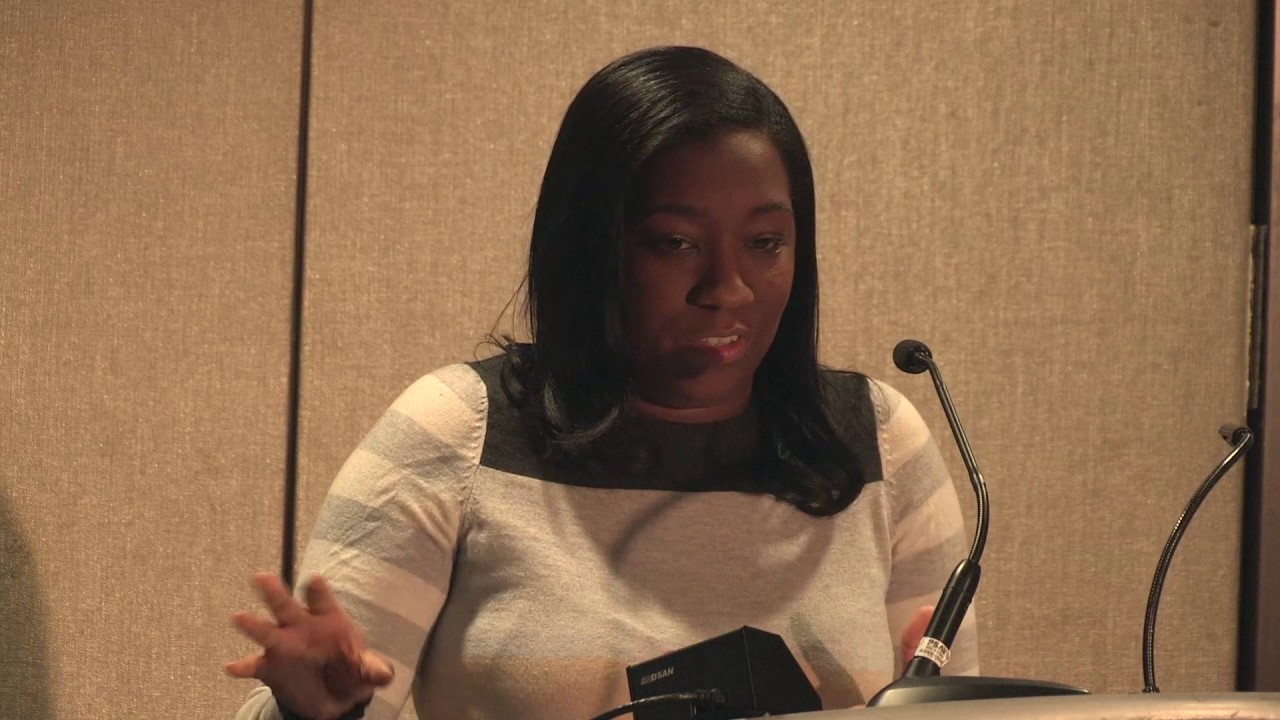 Brit Bennett at the 2017 FYE Conference
