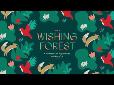 The Wishing Forest // Holiday Interactive Experience 2019