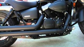 1. 2013 Honda Shadow Phantom Cobra Exhaust Swap