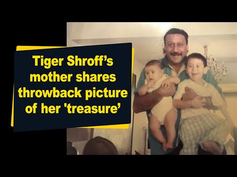 Tiger Shroff's mother shares throwback picture of her 'treasure'
