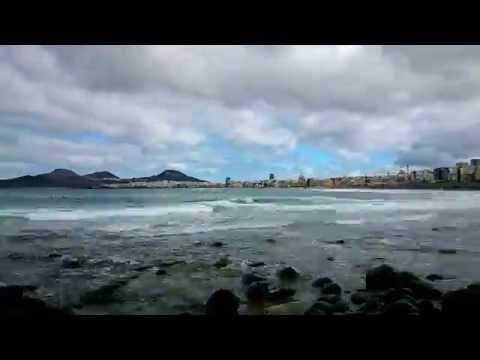 Video Time Lapse Surf Playa Las Canteras