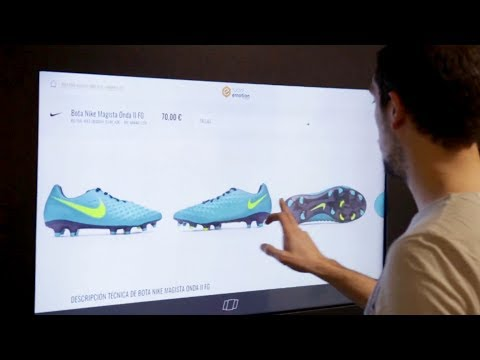 Fútbol Emotion Best Digital Retail. POPAI Awards Paris 2017