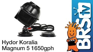 Hydor Koralia Magnum 5 – 1650GPH Flow Dynamics