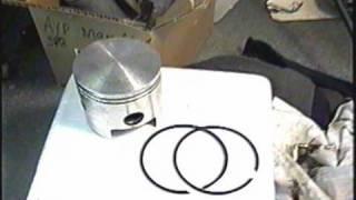 10. Gasoline Golf Cart ENGINE REBUILD Part 2/3