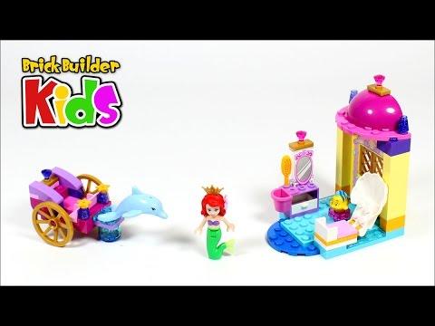 Vidéo LEGO Juniors 10723 : Le carrosse-dauphin d'Ariel