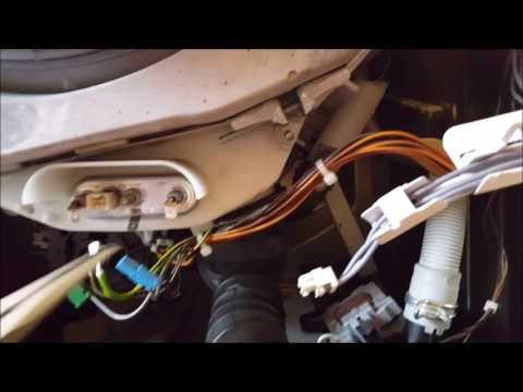 Waschmaschine Lager wechseln.  How to replace washing machine bearings. Switch Washer stock
