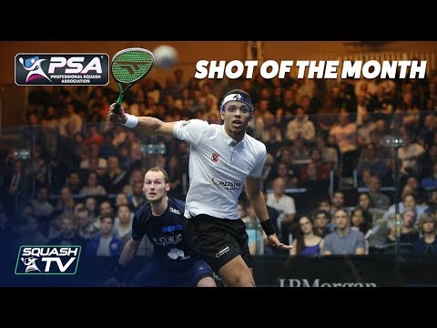 Squash: Shot of the Month - January 2020