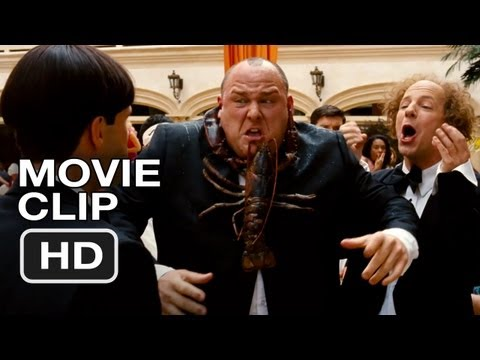The Three Stooges #2 Movie CLIP - Lobster (2012) HD Movie Video