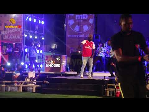 PASUMA'S PERFORMANCE AT MERRYBET CELEBRITY FAN CHALLENGE 1