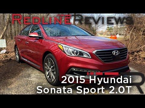 Redline Review: 2015 Hyundai Sonata Sport 2.0T