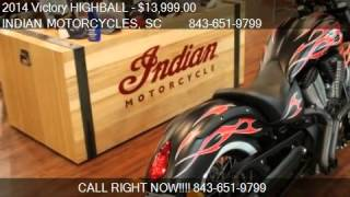 5. 2014 Victory HIGHBALL FACTORY BOBBER for sale in Murrells In
