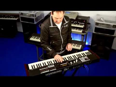 sk1 - Michael Falkenstein from Hammond Germany presents you the latest masterpiece released by Hammond, the gorgeous Hammond SK1 stage keyboard (73 keys version)