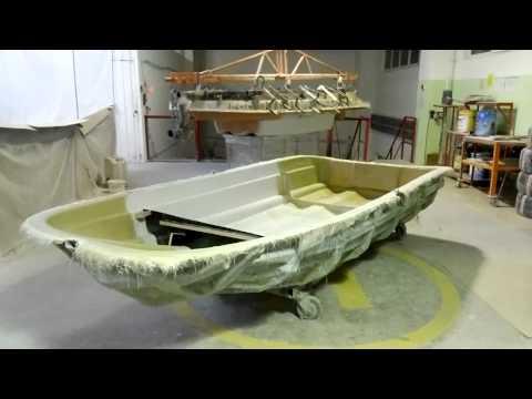 изготовление из стеклопластика лодки