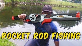 Video Rocket Fishing Rod Catches BIG FISH!!! MP3, 3GP, MP4, WEBM, AVI, FLV Agustus 2017