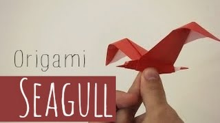 Origami Seagull Riccardo Foschi