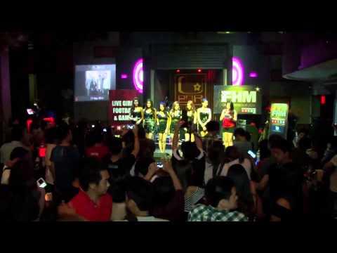 FHM GND 2014 by 138.com ยกพลบุกโร้ดโชว์ต่อหน้าหนุ่มๆ Ubar (видео)