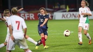 Video Equipe de France Féminine : buts et occasions de France-Hongrie (4-0) MP3, 3GP, MP4, WEBM, AVI, FLV Mei 2017