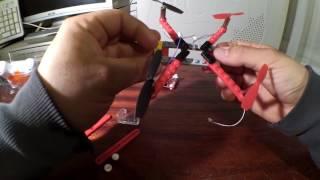 Lapra szerelt drón összeszerelése és kipróbálása. Jó ajándék kis szerelőknek14 éves kortol).Assembling and testing of the drone. Good gift for kids(14+age)Itt is megvásárolható/you can buy:http://www.gearbest.com/rc-quadcopters/pp_623168.html