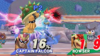 Falcon Knee into Falcon Knee