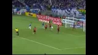 Golaço de Everton Ribeiro No Jogo de Ida das Oitavas de Final Pela Copa do Brasil de 2013.!
