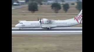 Tamworth Australia  City pictures : Virgin Australia Regional ATR 72 takeoff @ Tamworth Airport