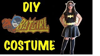 Last Minute DIY Halloween Batgirl Costume - YouTube