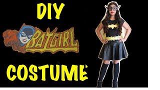 Last Minute DIY Halloween Batgirl Costume - YouTube