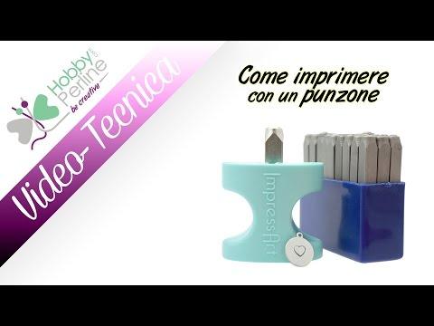 Come imprimere con un punzone | TECNICA - HobbyPerline.com