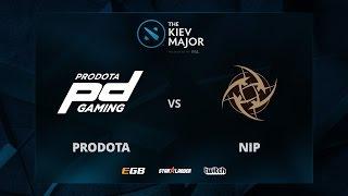 Prodota vs NiP, The Kiev Major EU Main Qualifiers