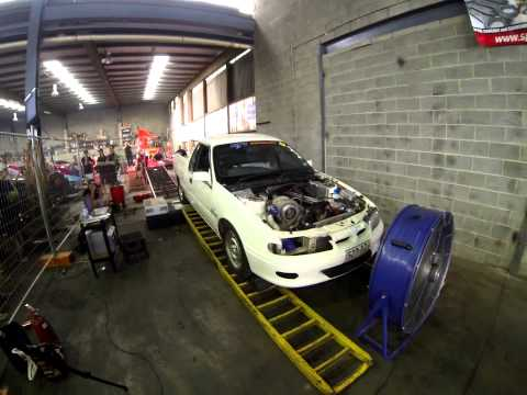 Derek Johnson VR 1JZ Dyno Run