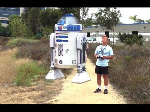 RC Flying R2D2 by Otto Dieffenbach